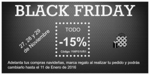 Black Friday: Super descuentos