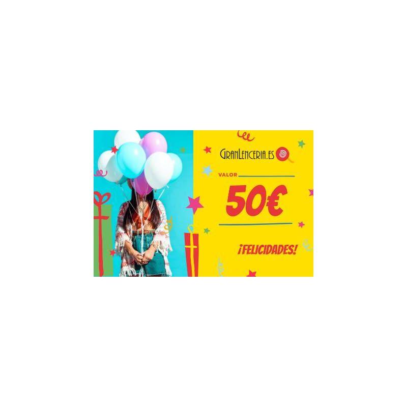 Tarjeta regalo felicidades 50€