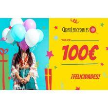 Tarjeta regalo felicidades 100€