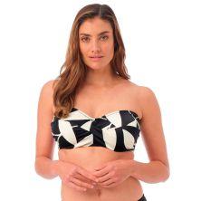 Top de bikini bandeau twist Ile de Re de Fantasie