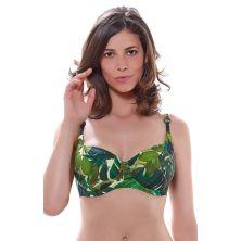 Top de bikini balcony jungla, colección Kuranda de Fantasie
