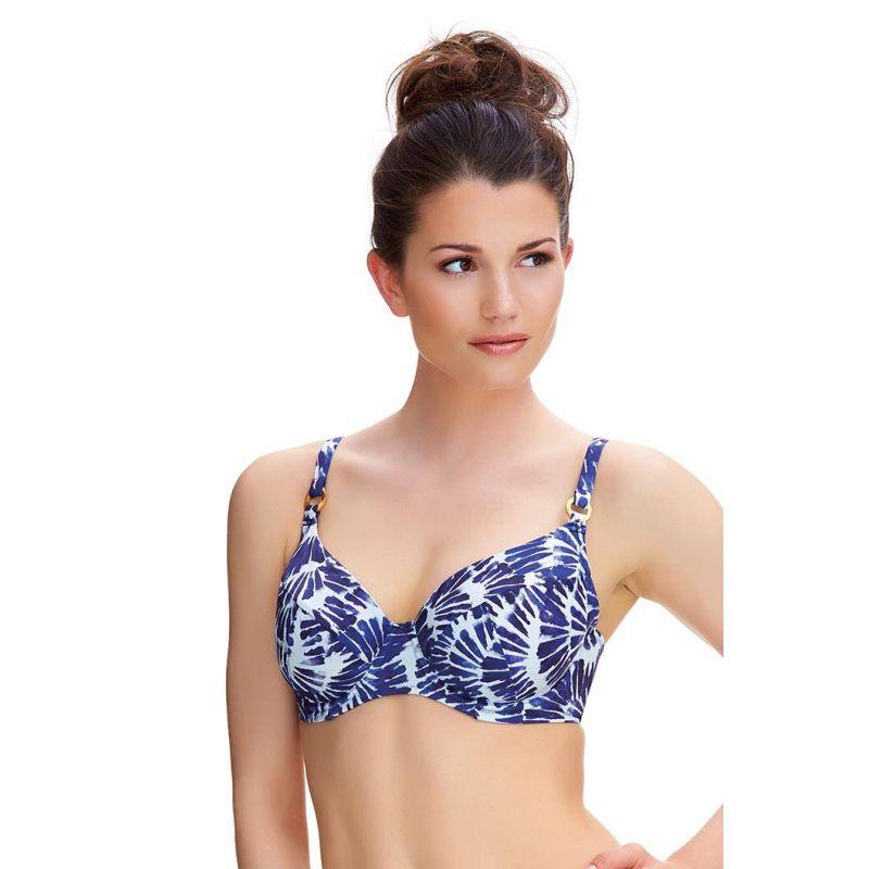 Top de bikini full cup drapeado, colección Lanai de Fantasie
