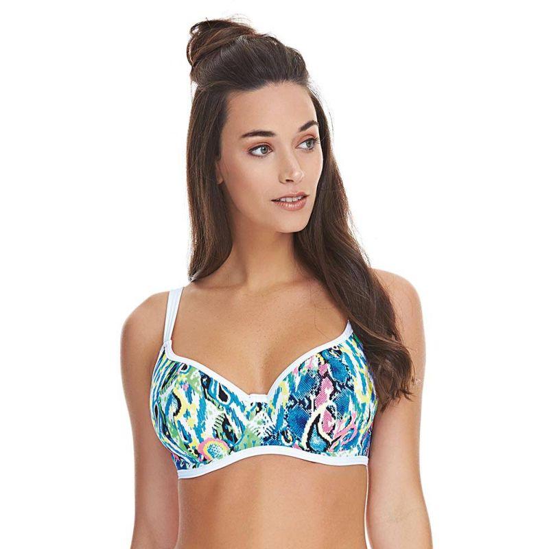 Top de bikini escote corazón Evolve de Freya